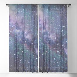 Milky Way Sheer Curtain