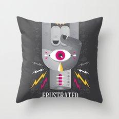 Frustrated Rocker Throw Pillow