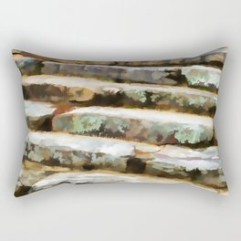 Concrete steps Rectangular Pillow