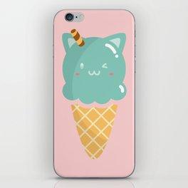 Mint Ice-cream iPhone Skin