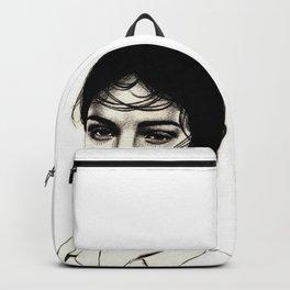 Sad eyes never lie. Backpack