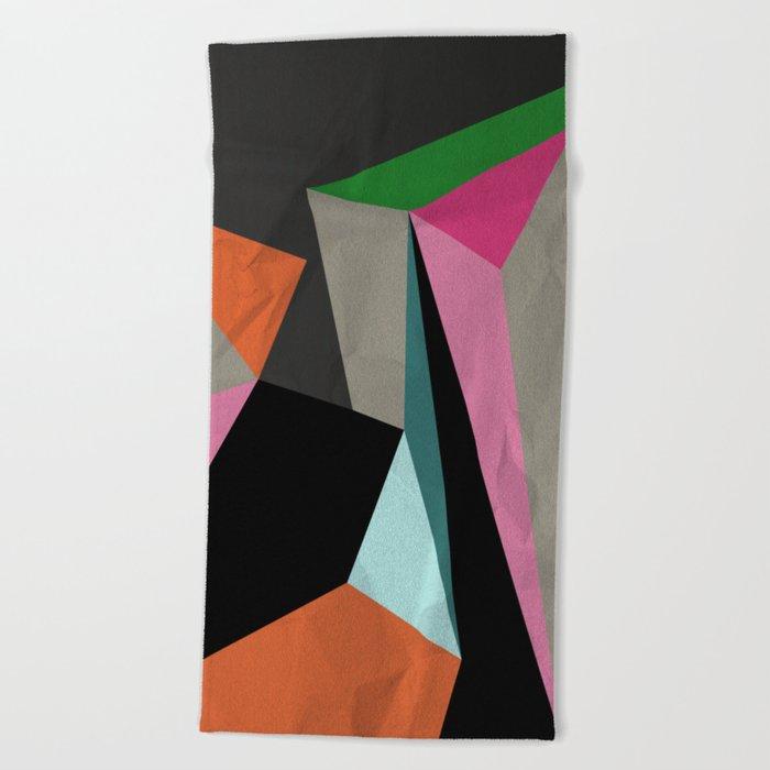 Geometric#21 Beach Towel