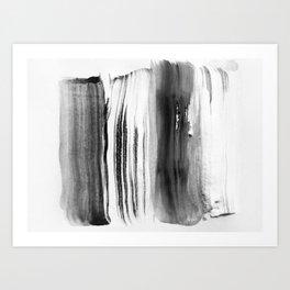 abstract minimal 8 Art Print