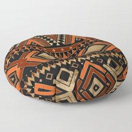 Aztec Ethnic Pattern Art N7 Floor Pillow
