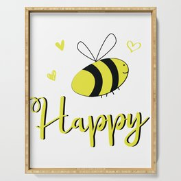 Bee Happy Serving Tray