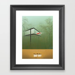 """You killed the car"" - Ferris Bueller's Day Off Framed Art Print"