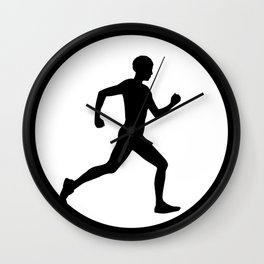 Rat Race 1 Wall Clock