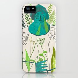 Woman [4] iPhone Case