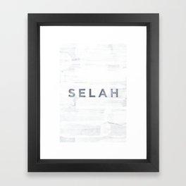 Selah Framed Art Print