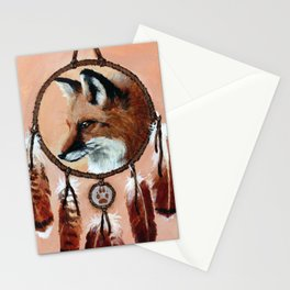 Fox Medicine Wheel Stationery Cards