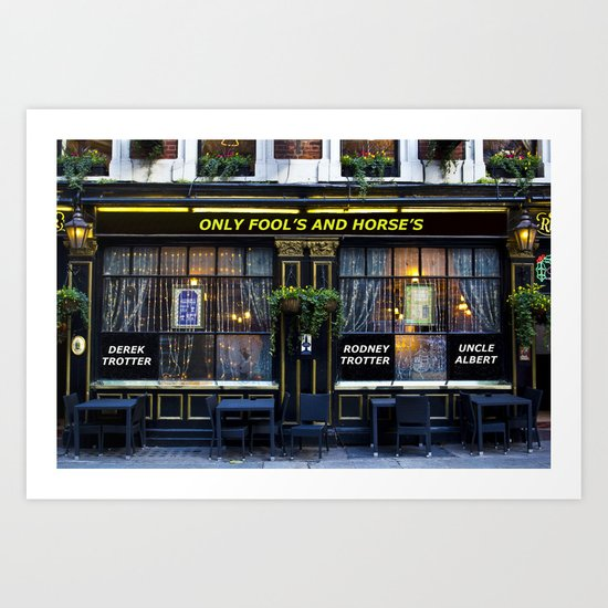 The Only Fool's and Horse's Art Print