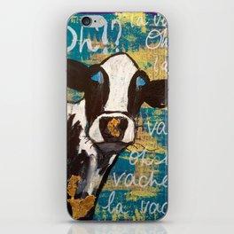 oh la vache! iPhone Skin