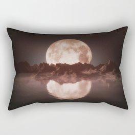 Misty Moon Rectangular Pillow
