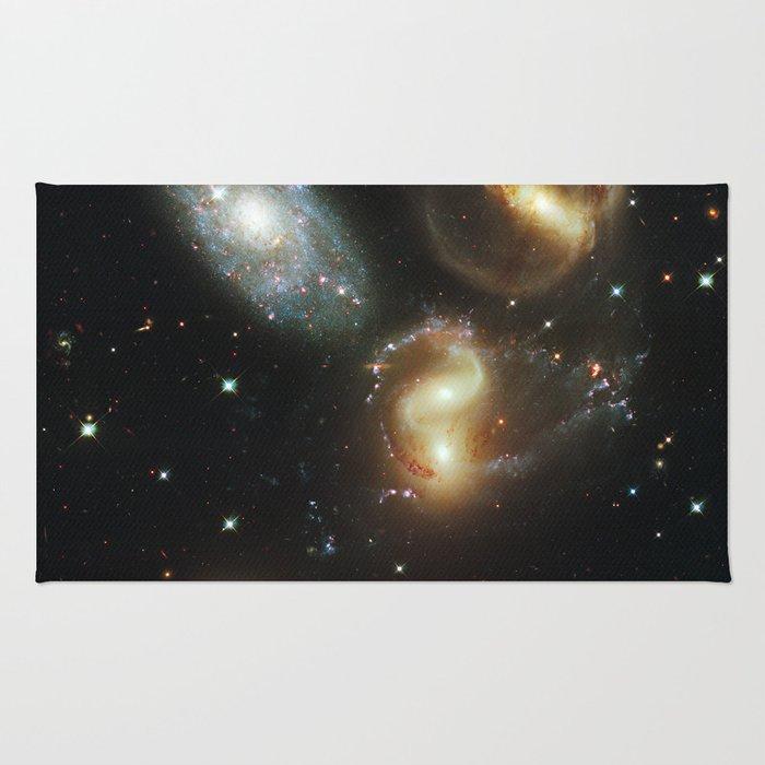 Galactic wreckage Rug