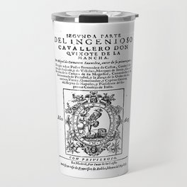 Don Quixote design: Miguel de Cervantes - Fine Art Gifts Travel Mug