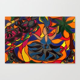 Tucan Con Alma Canvas Print