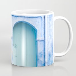 Doors - Chefchaouen VI - The Blue City, Morocco Coffee Mug