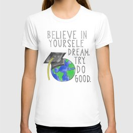 Believe in Yourself - Boy Meets World Graduation T-shirt