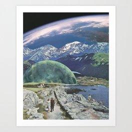 Sunday Cosmos Art Print