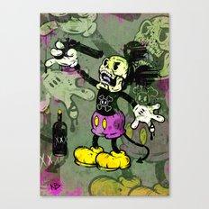 Mick Skele Canvas Print