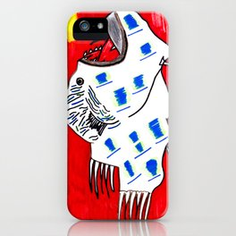 Better us than them iPhone Case