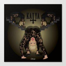 Katya Zamolodchikova - Exorcist Canvas Print