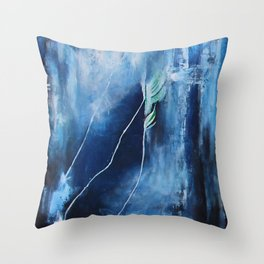Souls Come Alive in the Ocean Throw Pillow
