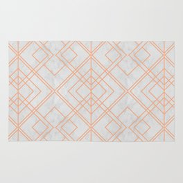 Art Deco Lines Pattern Rug