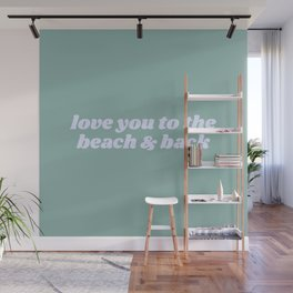 beach & back Wall Mural