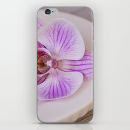 Zen Style Pink Orchid iPhone Skin