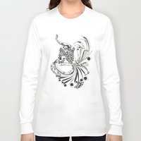 pisces Long Sleeve T-shirts featuring Pisces by Heaven7