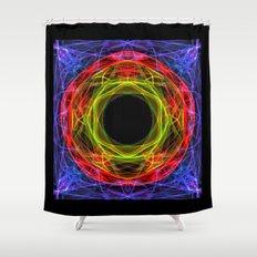 Vacancy / Enter Shower Curtain