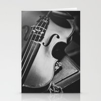 violin Stationery Cards featuring Violin by Jo Bekah Photography