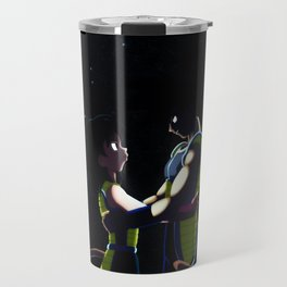 Bardock and Gine Travel Mug