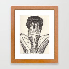 hideous dreams Framed Art Print