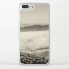 The mysterious valley Clear iPhone Case