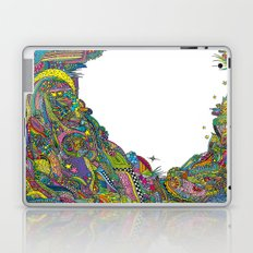 Night sky to look from the cave Laptop & iPad Skin
