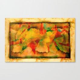 Zip Code Canvas Print