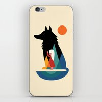 best friend iPhone & iPod Skins featuring Best Friend by Andy Westface
