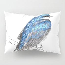 Tree Hugger (Tree Swallow) Pillow Sham