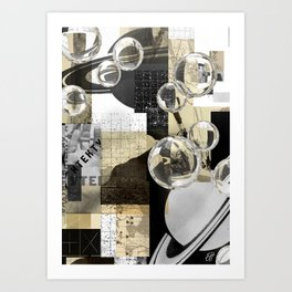 A Composition of Scales. 2019. Art Print