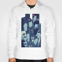 blade runner Hoodies featuring Blade Runner by Ale Giorgini