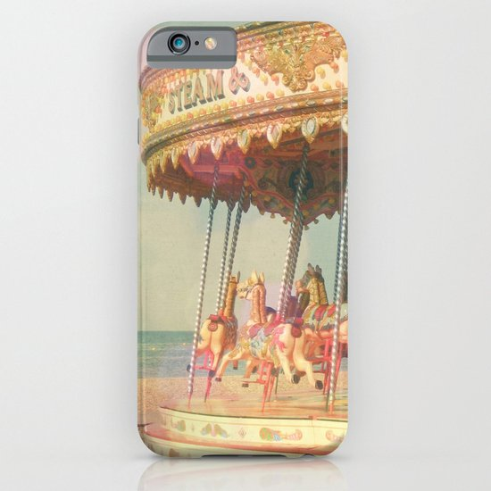Circling Horses iPhone & iPod Case