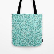 Chalk Doodle Tote Bag