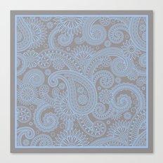 Paisley Mist Canvas Print