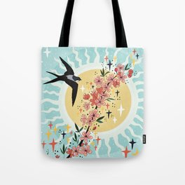 New energy coming in Tote Bag