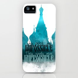 Impossible | Grisha iPhone Case