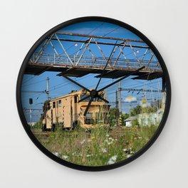 locomotive Wall Clock