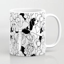 Oh Basset Hound Coffee Mug