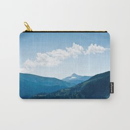 Peace is the color blue. Carry-All Pouch